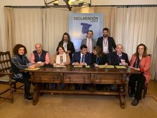 La Diputación de Badajoz se adhiere al Gran Pacto Nacional Por la Innovación y el Emprendimiento para la Repoblación Rural y Territorial