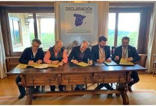La Diputación de Cáceres firma la Declaración de Gredos por la Innovación y el Emprendimiento para la repoblación rural