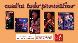 Concierto del grupo musical ''Contra Todo Pronóstico'' en la R.U. Hernán Cortés