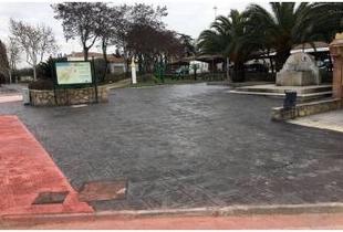 Diputación de Cáceres mejora el pavimento y redes en Almaraz