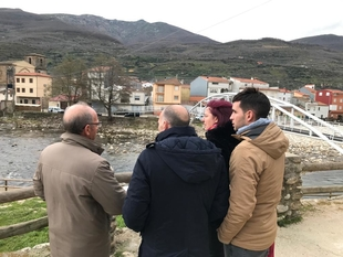 Agricultura arreglará con carácter de urgencia los caminos públicos de Navaconcejo afectados por las inundaciones