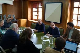 La Diputación acoge una reunión para avanzar en la estrategia por el reto demográfico en coordinación con la Junta