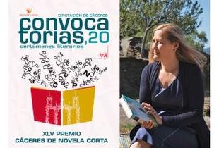 La escritora Luz Gabás será la presidenta del jurado del Premio Cáceres de Novela Corta de la Diputación