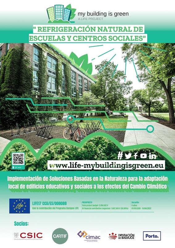 El proyecto LIFE-myBUILDINGisGREEN, premio nacional de Sostenibilidad de 'El Suplemento'