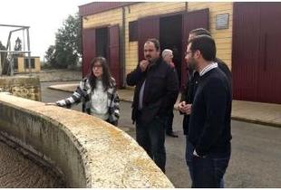 Alfonso Beltrán recaba información de las EDAR de Peraleda de la Mata y Casatejada para el Consorcio MásMedio