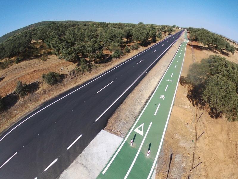 El aumento de inversión en conservación y mantenimiento reduce la siniestralidad en las carreteras provinciales