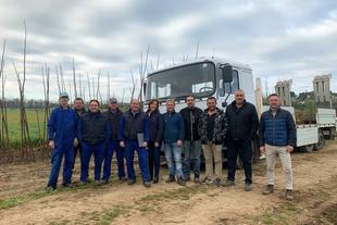 Más de 100 municipios recibirán árboles del Vivero de la Diputación de Cáceres
