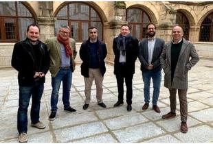 La Diputación de Cáceres profundiza en su acercamiento al sector empresarial tecnológico de la provincia