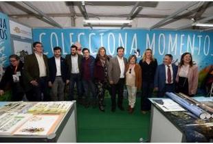 Los territorios UNESCO de la provincia, en el stand de la Diputación de Cáceres en FIO 2020