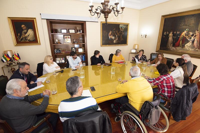 Diputación avanza en un nuevo convenio con las asociaciones de personas con discapacidad para el seguimiento del Plan Integra