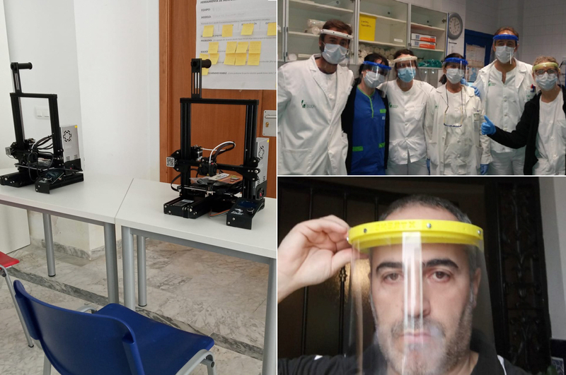 La Diputación pone sus Impresoras 3D del CEIR de Valencia de Alcántara al servicio de la lucha contra el coronavirus