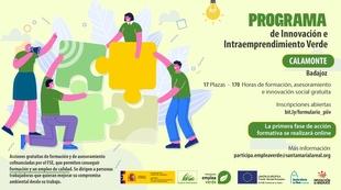 Calamonte acogerá el ''Programa de Innovación e Intraemprendimiento Verde'' para mejorar el compromiso ambiental en el trabajo