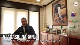 Mensaje de ánimo de Atanasio Naranjo