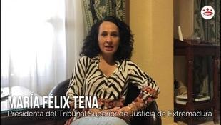 Mensaje de ánimo de María Félix Tena