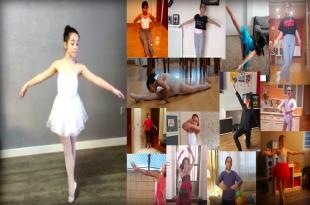 Niñas y niños del Conservatorio de Danza El Brocense celebran el Día Internacional de la Danza desde sus casas