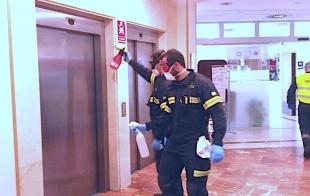El CPEI realizó la pasada semana tareas de desinfección en quince centros de la provincia