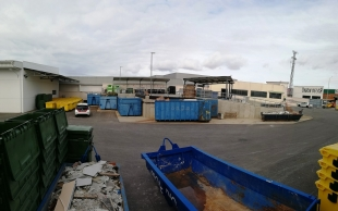 Más de 6 toneladas de plásticos no envases recuperadas para su reciclaje en el punto limpio de Promedio en Zafra