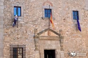 El reto demográfico y las ayudas al mundo rural centran el pleno de la Diputación Provincial de Cáceres