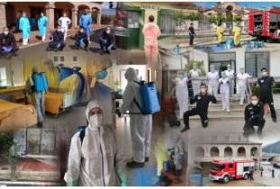 El SEPEI ha gestionado durante la crisis sanitaria 2.224 desinfecciones en exteriores y 569 en interiores