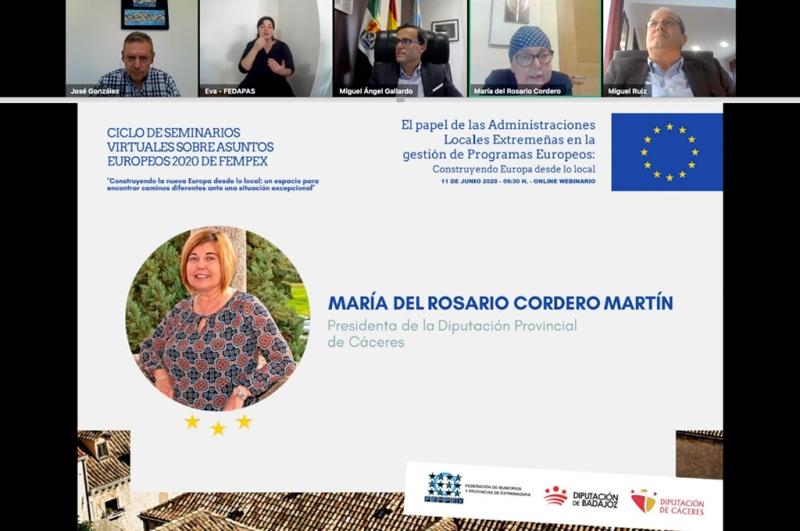 Charo Cordero reivindica una Europa que esté cerca de la ciudadanía y mire hacia el mundo rural