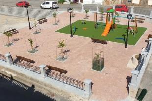 Deleitosa estrena Plaza de España adaptada para poder realizar actividades y eventos