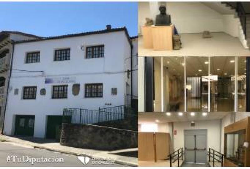 Terminan las obras de adecuación del Museo Dr. Sayans en Casas del Castañar