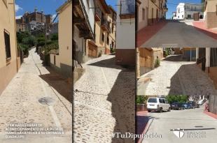 Terminan las obras de acondicionamiento de la Ruta de Isabel La Católica a su entrada a Guadalupe