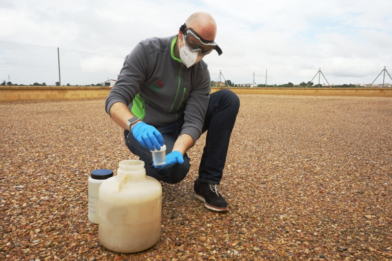 Ausencia de COVID-19 en las aguas residuales de siete localidades
