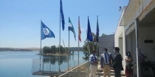 Orellana iza sus banderas azules con la puesta en marcha de un sistema de gestión inteligente implantado por la Diputación