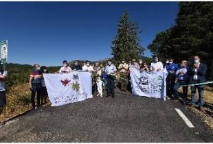 Cordero 'Hoy es un gran día porque el Itinerario La Villuerca es un motor de dinamización para el Geoparque y la comarca'