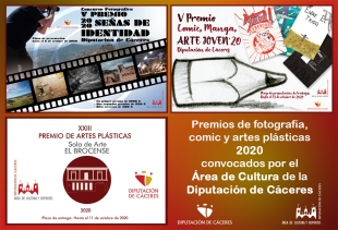 La Diputación convoca una nueva edición del Premio de Artes Plásticas El Brocense
