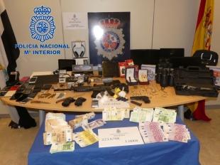 Tres detenidos por Policía Nacional en un operativo contra el tráfico de drogas