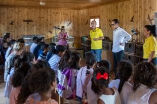 El Museo Itinerante de Medioambiente de la Provincia de Badajoz reanuda su actividad abriendo sus puertas al público