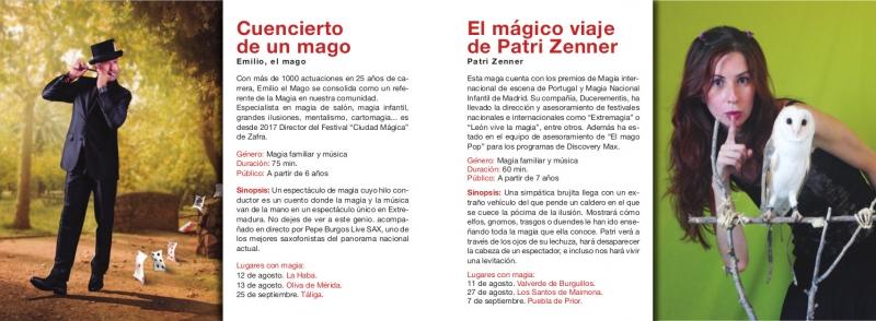 Siete artistas participarán en el II Festival Itinerante de Magia Badakadabra de la Diputación de Badajoz