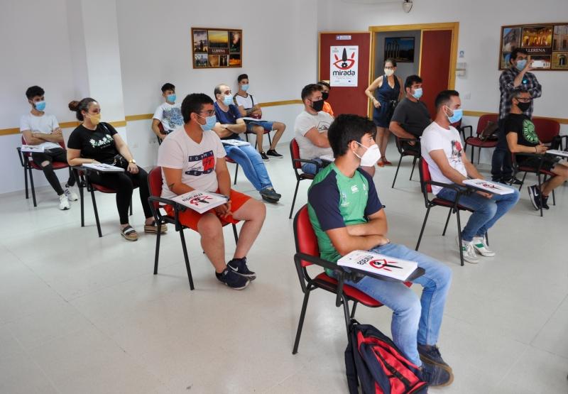 Comienza en la localidad de Llerena la acción formativa de 'Sacrificio, faenado y despiece de animales'