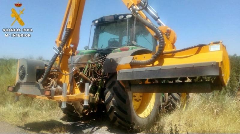 La Guardia Civil investigó a un tractorista por un incendio forestal en el que se quemaron 30 hectáreas de Ribera del Fresno