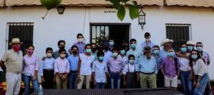 Antonio Ferrera dona seis novillos a la Escuela Taurina de Badajoz para la práctica de sus alumnos