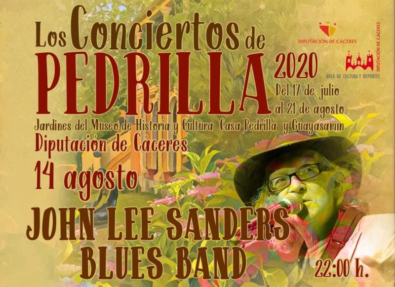 Dixieland y ecos de Nueva Orleans, este viernes, en Los Conciertos de Pedrilla con John Lee Sanders Blues Band.