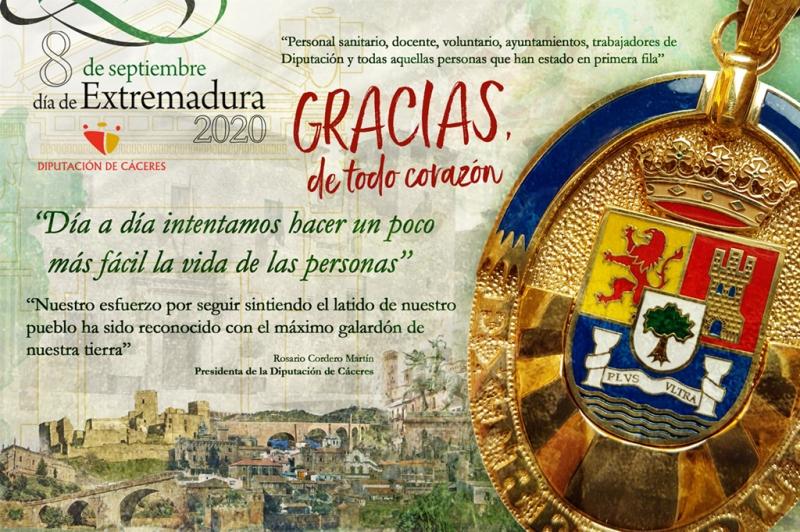 ¡Feliz Día de Extremadura! Felicidades a esta gran tierra que formamos todas y todos