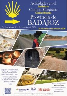 La Diputación inicia una campaña de actividades en municipios pacenses por los que transcurre el camino jacobeo mozárabe