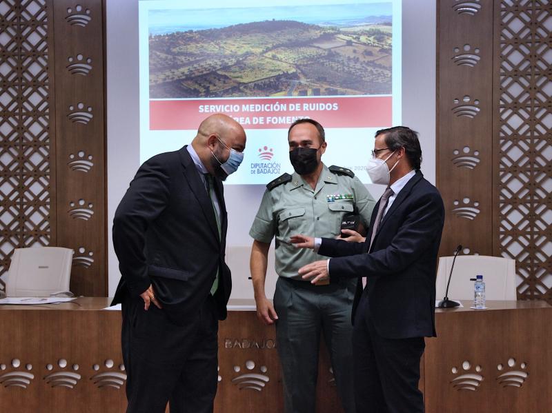 La Diputación de Badajoz impulsa un nuevo servicio de medición de niveles de contaminación acústica para los municipios de la provincia