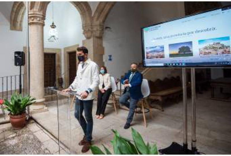 Echa a andar la primera plataforma de venta de bonos turísticos y solidarios en la provincia: www.descubrircaceres.com