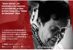 'Amor eterno', un homenaje a los mayores y a la tradición, primer premio fotográfico 'Señas de identidad' de Diputación