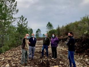 Begoña García pone en valor los trabajos forestales que la Junta realiza en el valle del Árrago para prevenir incendios