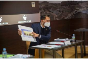 La Diputación aprueba los Presupuestos 2021 con 160.390.000 €, lo que supone un crecimiento de 16,68%