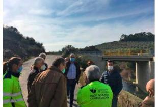 Terminadas las obras de la carretera de Marchagaz a la Ex-205 por Palomero realizadas por la Diputación de Cáceres