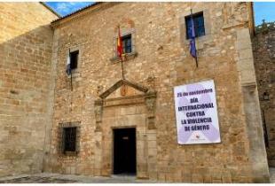 La Diputación de Cáceres con las mujeres víctimas de la violencia machista