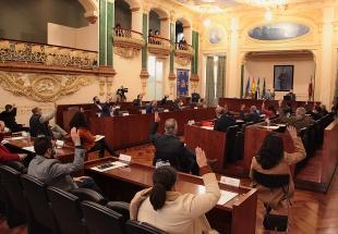 La Diputación aprueba en pleno el presupuesto 2019 de la institución que arroja un superávit de 11 millones de euros