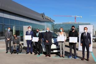 Renault concede al Plan Movem de la Diputación uno de los premios a la mejor práctica en movilidad sostenible