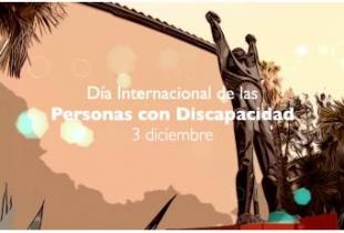 Campaña de sensibilización de la Diputación de Cáceres con motivo del 3-D, Día Internacional de las personas con Discapacidad